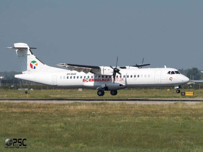 OY-RUD ATR72-201 162 Danish Air Transport