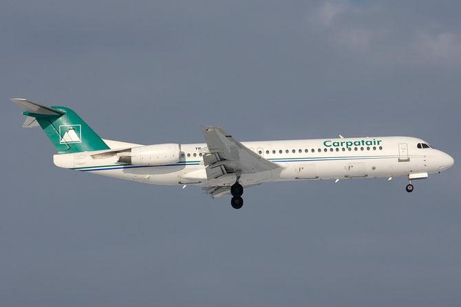 YR-FKA Fokker 100 11340 Carpatair