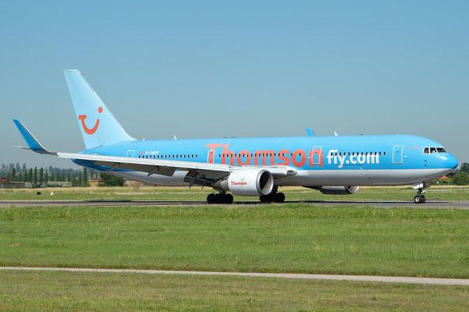 Boeing 767 - MSN 28208 - G-OBYF @ Aeroporto di Verona © Piti Spotter Club Verona