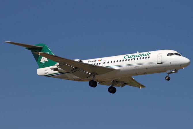 YR-KMB Fokker 70 11565 Carpatair