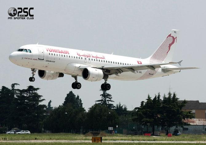 TS-IML A320-211 958 Tunis Air @ Aeroporto di Verona © Piti Spotter Club Verona