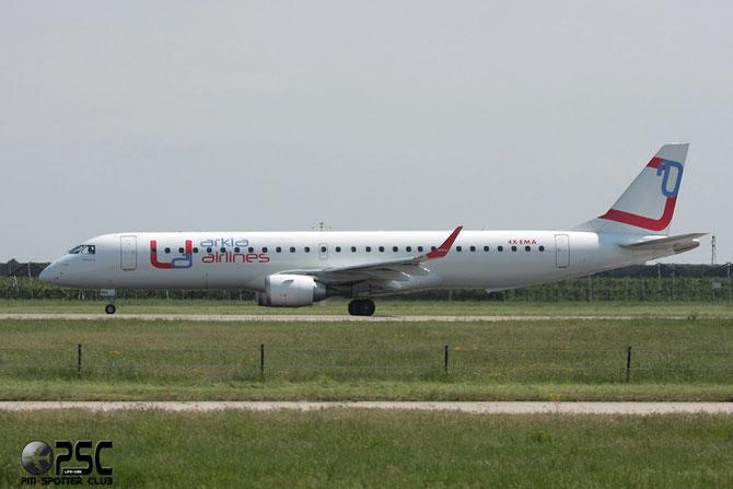 4X-EMA ERJ195LR 19000172 Arkia Israeli Airlines