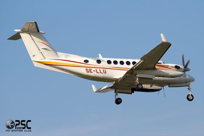 SE-LLU Beech 350 FL-175 PA Flyg