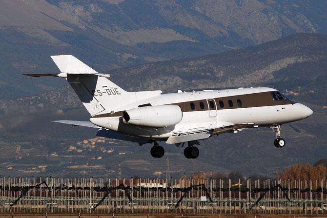 CS-DUE BAe125-750 HB-11 NetJets Europe @ Aeroporto di Verona - 2016 © Piti Spotter Club Verona