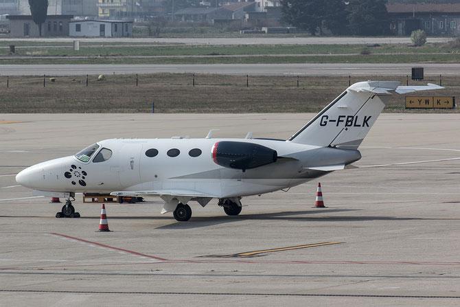 G-FBLK Ce510 510-0027 Blink Ltd. @ Aeroporto di Verona © Piti Spotter Club Verona