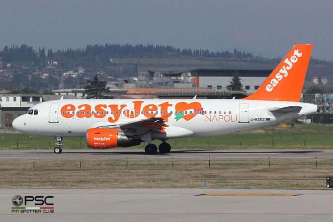 G-EZEZ A319-111 2360 EasyJet Airline @ Aeroporto di Verona © Piti Spotter Club Verona