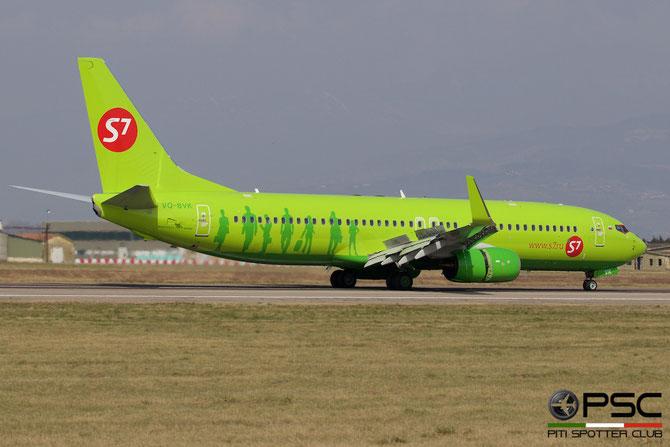 VQ-BVK B737-8GJ 41401/5165 S7 Airlines @ Aeroporto di Verona © Piti Spotter Club Verona