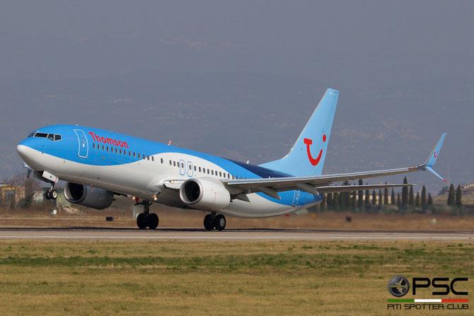 G-TAWC B737-8K5 (Scim) 39922/3925 Thomson Airways@ Aeroporto di Verona © Piti Spotter Club Verona