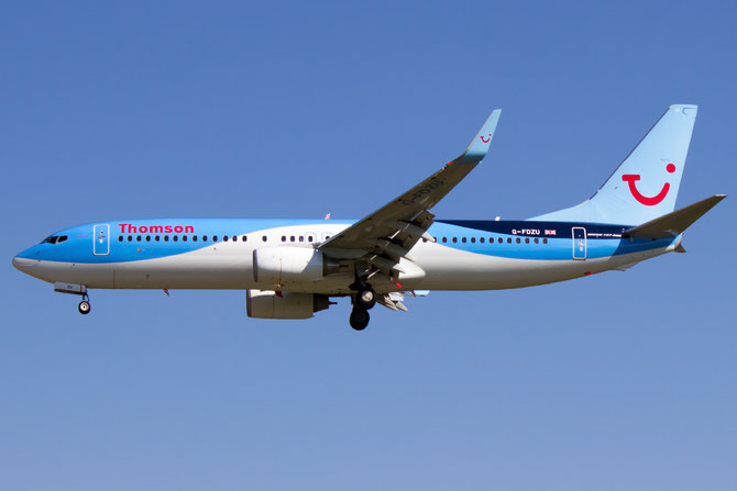 G-FDZU B737-8K5 37253/3562 Thomson Airways