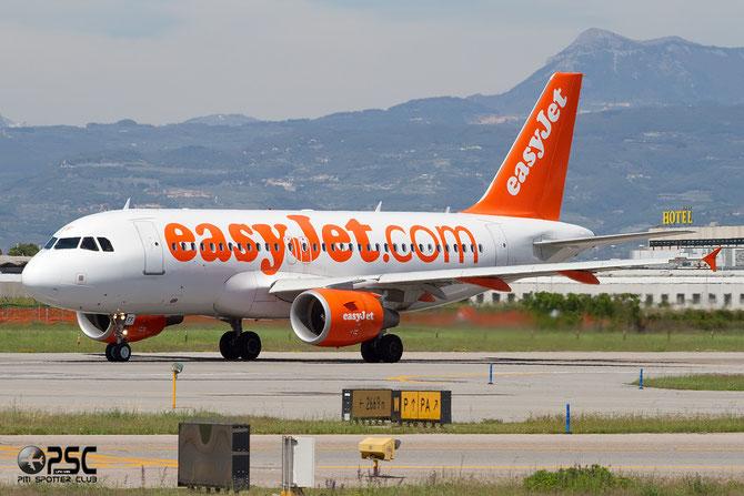 Airbus A319 - MSN 3844 - G-EZFF @ Aeroporto di Verona © Piti Spotter Club Verona