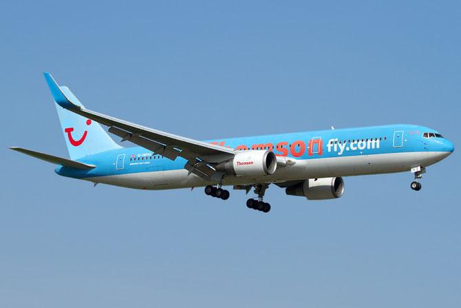 Boeing 767 - MSN 29137 - G-OBYG (Old livery) @ Aeroporto di Verona © Piti Spotter Club Verona