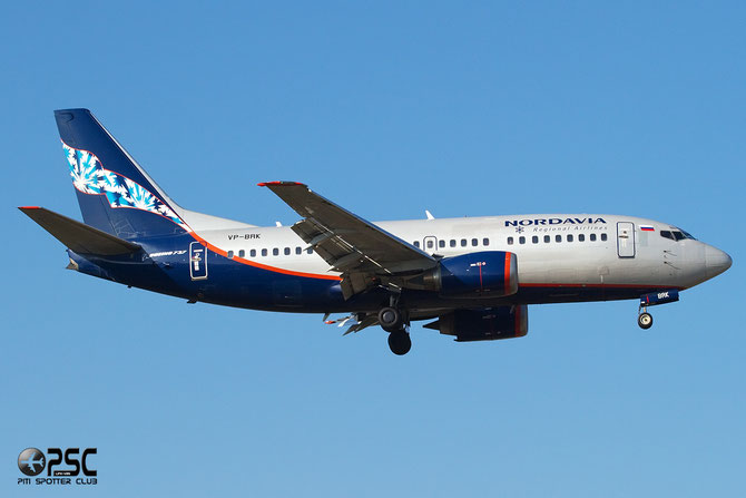 Boeing 737 - MSN 25288 - VP-BRK @ Aeroporto di Verona © Piti Spotter Club Verona