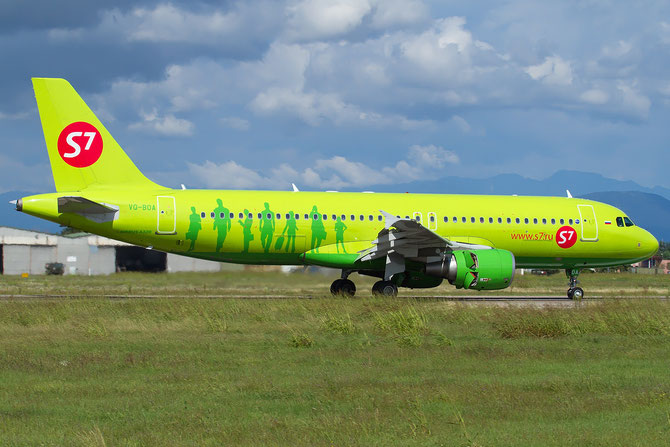 VQ-BOA A320-214 5001 S7 Airlines