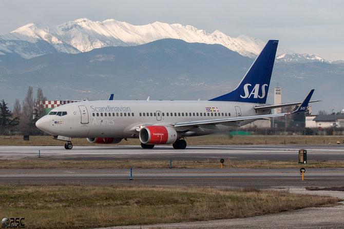 LN-TUK B737-705 29096/794 SAS Scandinavian Airlines - Scandinavian Airlines System @ Aeroporto di Verona © Piti Spotter Club Verona