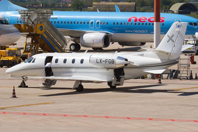 LX-FGB Ce560XLS+ 560-6026 Luxaviation