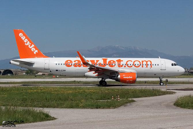 G-EZWH A320-214 5542 EasyJet Airline @ Aeroporto di Verona © Piti Spotter Club Verona