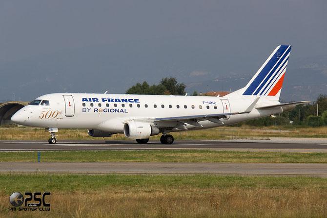 Embraer 170/175 - MSN 263 - F-HBXC  @ Aeroporto di Verona © Piti Spotter Club Verona