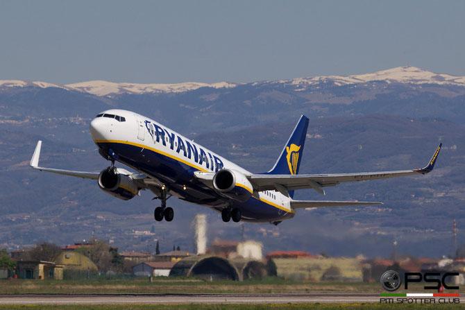 EI-DHF B737-8AS 33575/1660 Ryanair @ Aeroporto di Verona © Piti Spotter Club Verona