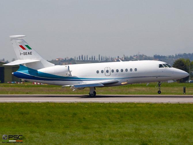 I-SEAE Falcon 2000 200 Servizi Aerei @ Aeroporto di Verona © Piti Spotter Club Verona