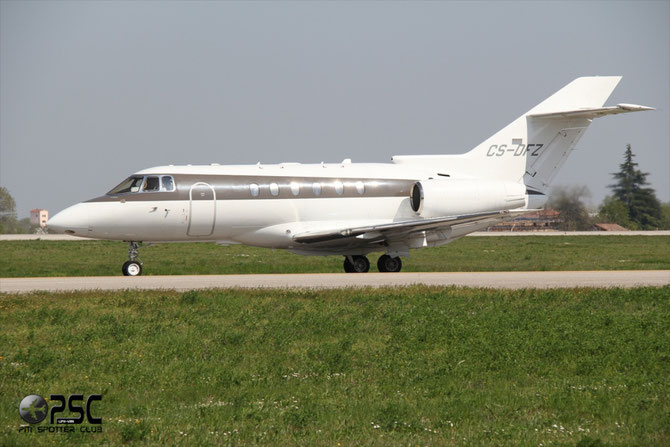 CS-DFZ BAe125-800XP 258673 NetJets Europe