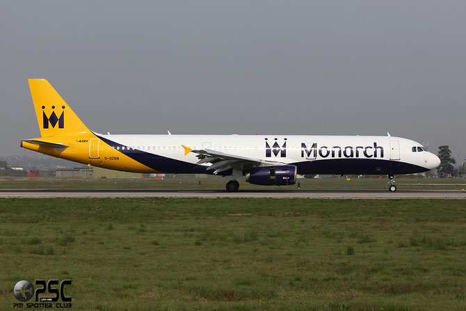 G-OZBN A321-231 1153 Monarch Airlines