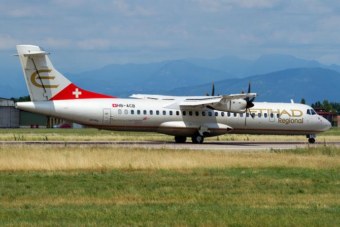 HB-ACB ATR72-212A 662 Darwin Airline 28mar14 opf Etihad Regional