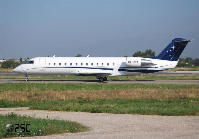 OY-VGA CL-850 8077 ExecuJet Scandinavia