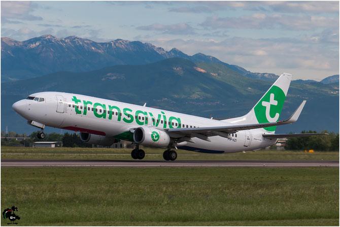 PH-HZI B737-8K2 28380/524 Transavia Airlines @ Aeroporto di Verona © Piti Spotter Club Verona