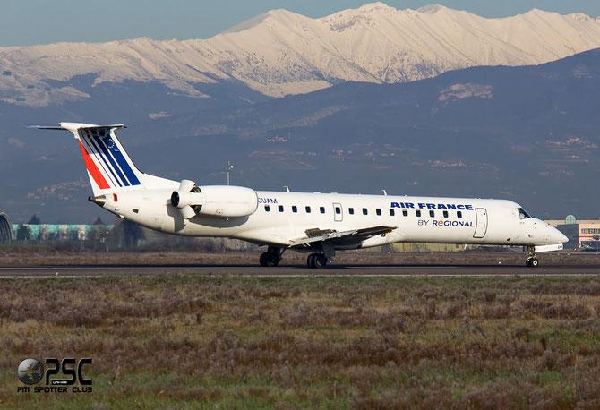 Embraer 135/145 - MSN 266 - F-GUAM @ Aeroporto di Verona © Piti Spotter Club Verona