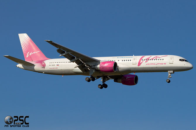 Boeing 757 - MSN 25901 - RA-73015 @ Aeroporto di Verona © Piti Spotter Club Verona