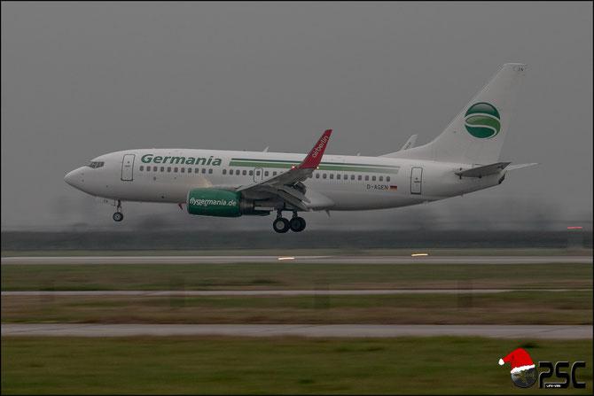 D-AGEN B737-75B 28100/16 Germania Flug (Air Berlin Winglets) @ Aeroporto di Verona © Piti Spotter Club Verona