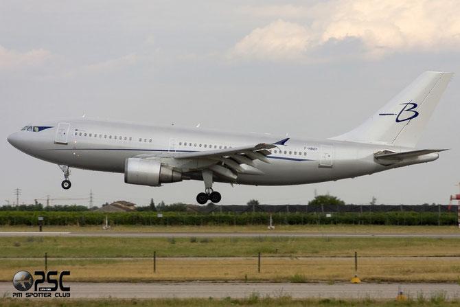 F-HBOY A310-324ET 650 Blue Line