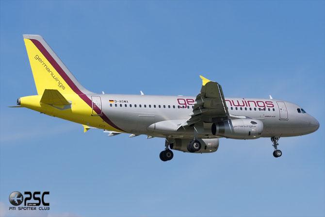 Airbus A319 - MSN 2813 - D-AGWA @ Aeroporto di Verona © Piti Spotter Club Verona