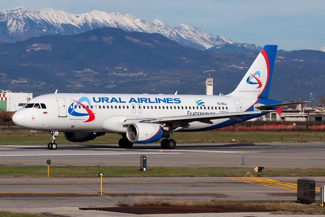Airbus A320 - MSN 2187 - VQ-BDJ  @ Aeroporto di Verona © Piti Spotter Club Verona