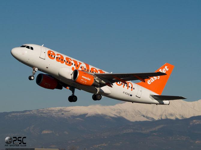 Airbus A319 - MSN 2769 - G-EZAO @ Aeroporto di Verona © Piti Spotter Club Verona