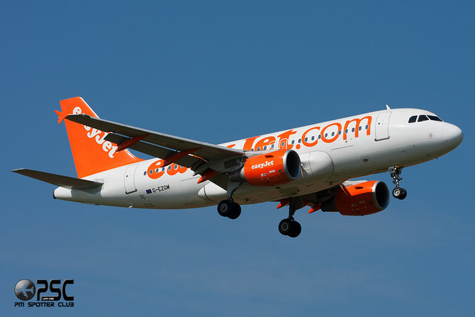 G-EZGM A319-111 4778 EasyJet Airline