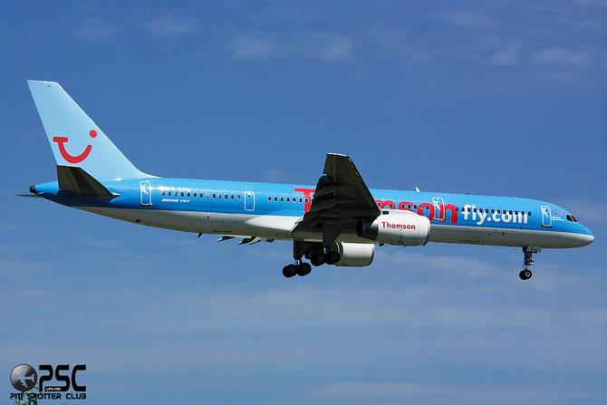Boeing 757 - MSN 27220 - G-BYAU @ Aeroporto di Verona © Piti Spotter Club Verona