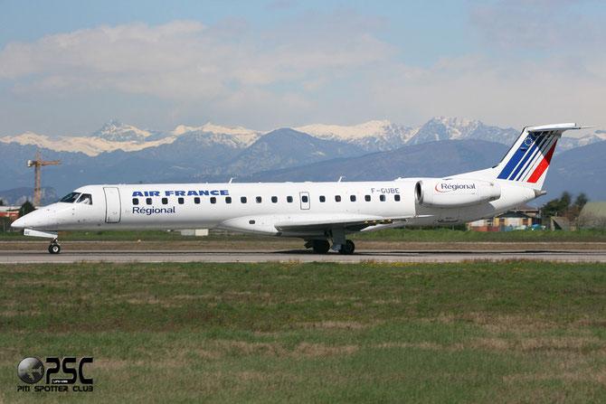 Embraer 135/145 - MSN 668 - F-GUBE @ Aeroporto di Verona © Piti Spotter Club Verona