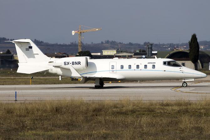 SX-BNR Learjet 60 60-231 Aegean Airlines @ Aeroporto di Verona © Piti Spotter Club Verona