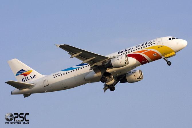 LZ-BHE A320-211 305 BH Air - Balkan Holidays International
