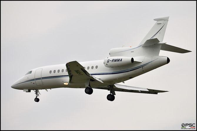 G-RMMA Falcon 900EX-EASy 189 TAG Aviation UK @ Aeroporto di Verona © Piti Spotter Club Verona