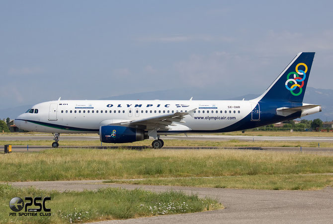SX-OAR A320-232 3812 Olympic Air