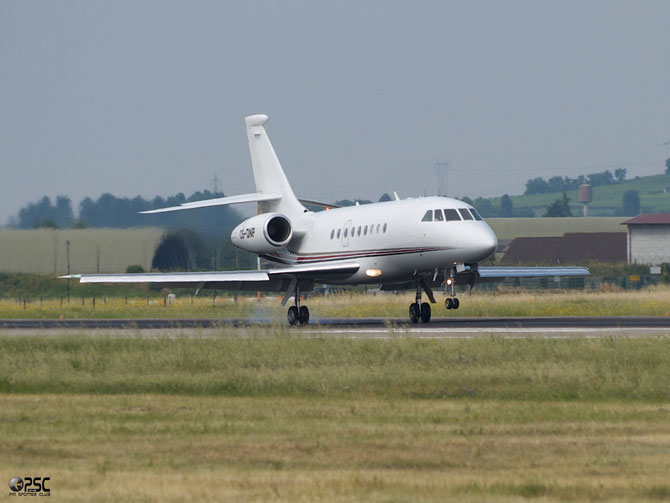CS-DNP Falcon 2000 109 NetJets Europe