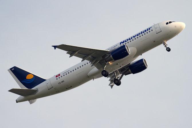 TS-ING A320-211 140 Nouvelair Tunisie
