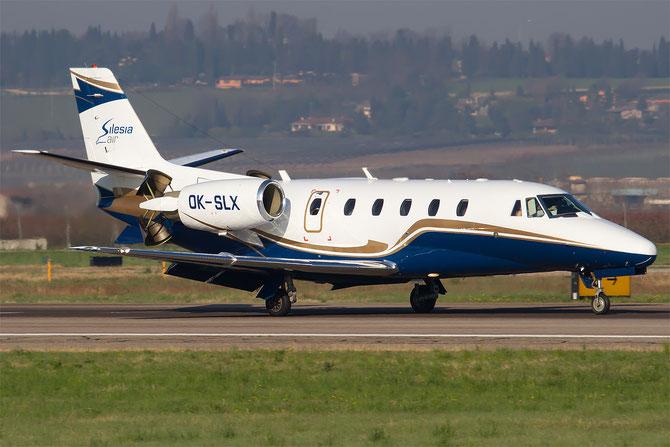OK-SLX Ce560XL 560-5243 Silesia Air @ Aeroporto di Verona © Piti Spotter Club Verona