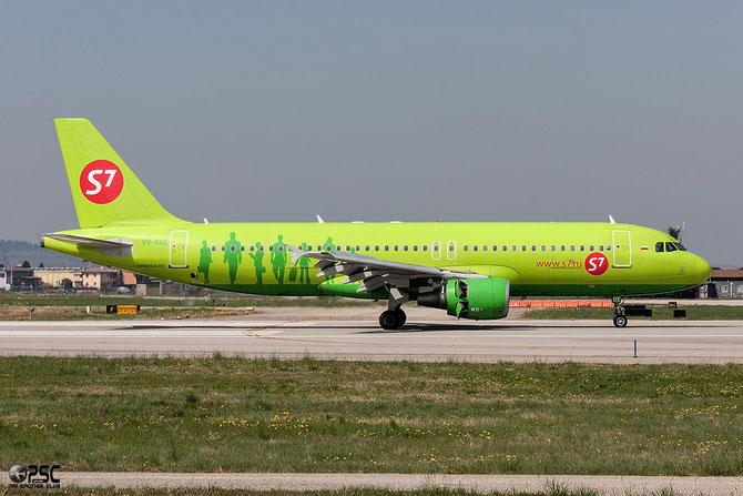 VQ-BDE A320-214 3866 S7 Airlines @ Aeroporto di Verona © Piti Spotter Club Verona
