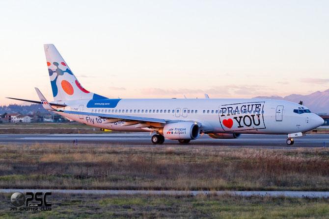OK-TVB B737-8CX 32362/1125 Travel Service @ Aeroporto di Verona © Piti Spotter Club Verona