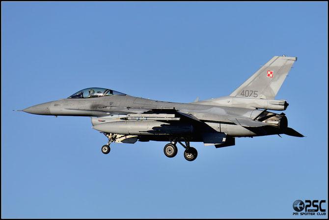 Poland - 4075  F-16C-52CF JC-36 32.BLT (10.elt © Marco Morbioli - Piti Spotter Club Verona