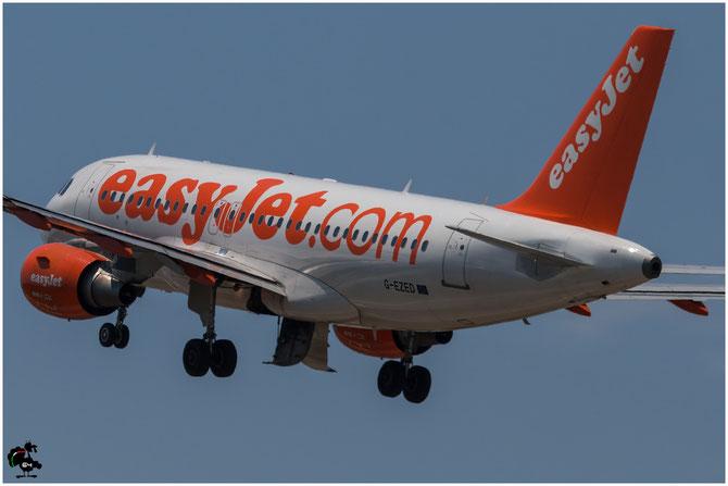 G-EZED A319-111 2170 EasyJet Airline @ Aeroporto di Verona © Piti Spotter Club Verona