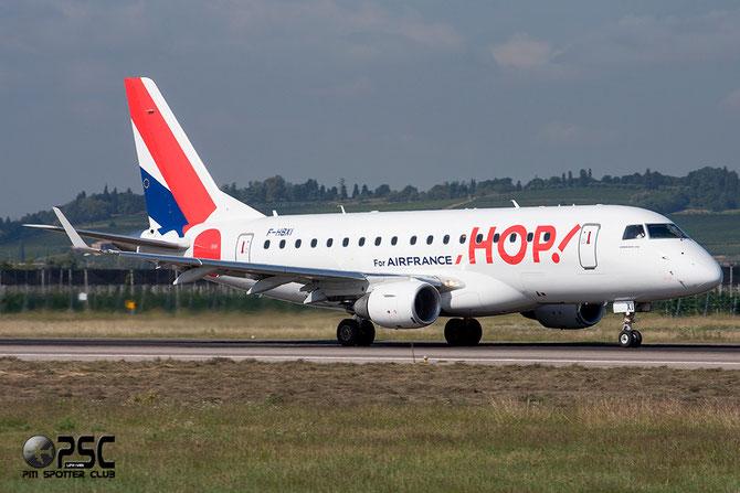 Embraer 170/175 - MSN 310 - F-HBXI  (Hop! livery) @ Aeroporto di Verona © Piti Spotter Club Verona